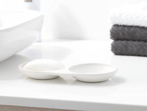 Σαπουνοθήκη SealSkin Conical White