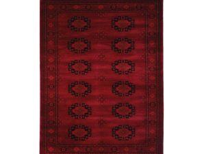 Χαλί (133×190) Royal Carpets Afgan 6871H D.Red
