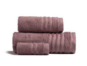 Πετσέτα Χεριών 30X50 Melinen Premio Grey/Lilac