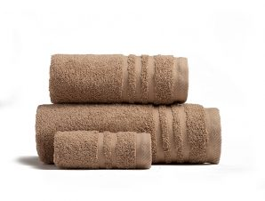Πετσέτες Μπάνιου (Σετ 3 Τμχ) Melinen Premio Mocha