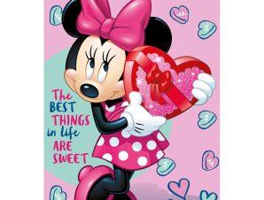 Κουβέρτα Fleece Κούνιας 100X150 Disney Dimcol Minnie 20