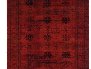 Χαλί Σαλονιού Royal Carpet Afgan 1.33X1.90 – 8127G Red