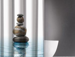 Κουρτίνα Μπάνιου 180X200 Saint Clair Zen Body Des 802