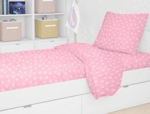 Σεντόνι Μονό (Σετ 2 Τμχ) 160X240 Dimcol Princess 47 Pink Χωρίς Λάστιχο