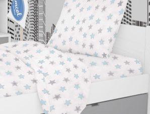 Μαξιλαροθήκη Τεμάχιο 50X70 Dimcol Star 104 Sky