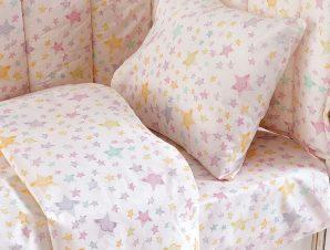 Πάπλωμα Κούνιας 110X150 Rythmos Glow Pink
