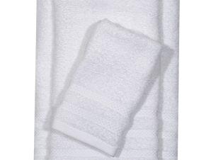 Πετσέτα Προσώπου 50X90 Das Home Soft Happy 1230 Λευκό