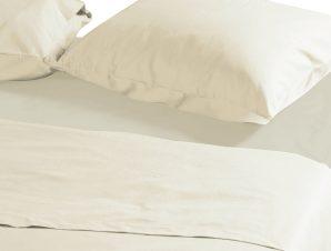 Μαξιλαροθήκες Ζεύγος 52×72 Nef Nef Basic 729-Cream