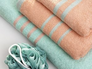 Πετσέτες Μπάνιου (Σετ 3 Τμχ) Palamaiki Towels Collection Contrast Bubble/Mint