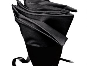 Σεντόνι Μεμονωμένο Μονό 100X200+30 Melinen Urban Black Με Λάστιχο