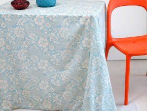 Τραπεζομάντηλο 140X180 Melinen Rosalia Blue